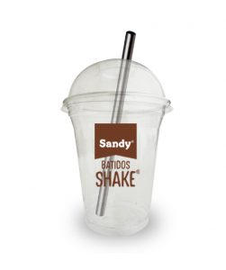 Vasos personalizados Batidos Shake de Sandy