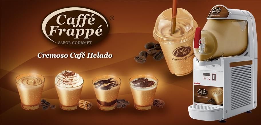 Máquina soft para caffé frappé
